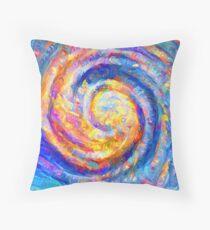 Abstract segmentation of phoenix Throw Pillow