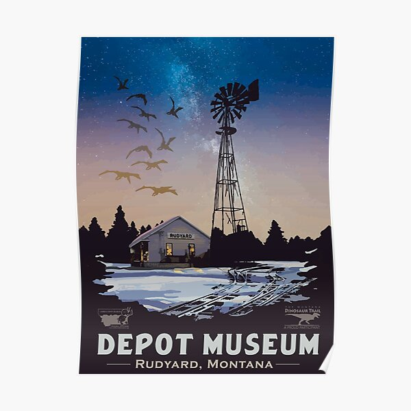 Depot Museum Poster