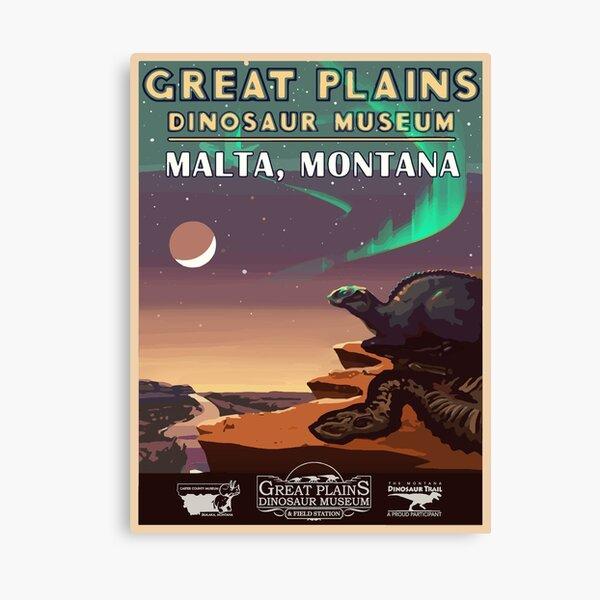 Great Plains Dinosaur Museum Canvas Print