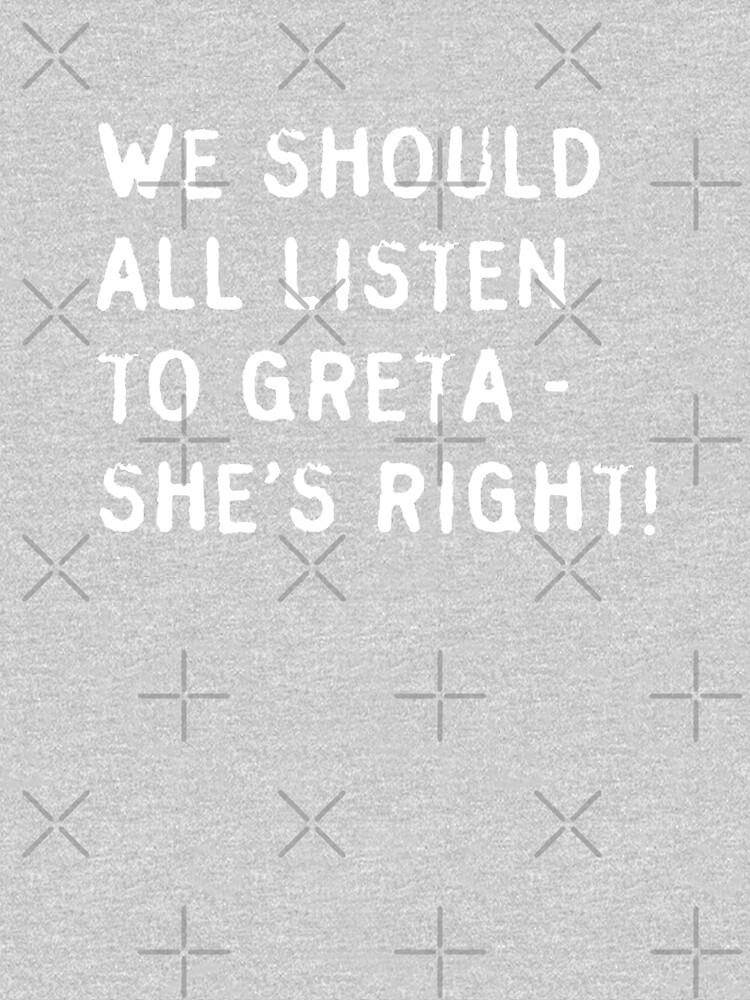 Greta is right! by DJDonTomaso