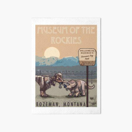 Museum of the Rockies Art Board Print