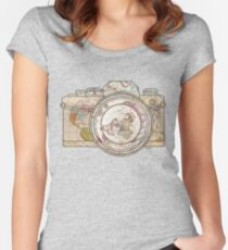 Travel Women's Fitted Scoop T-Shirt