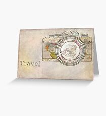 Travel Greeting Card
