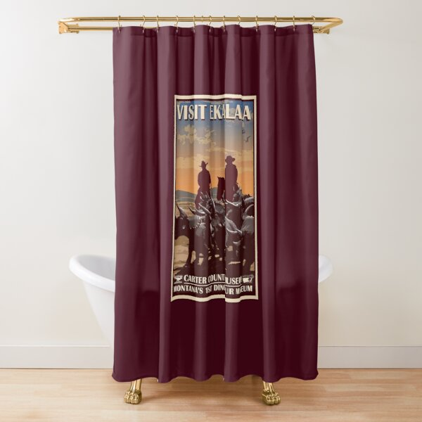 Carter County Museum Shower Curtain