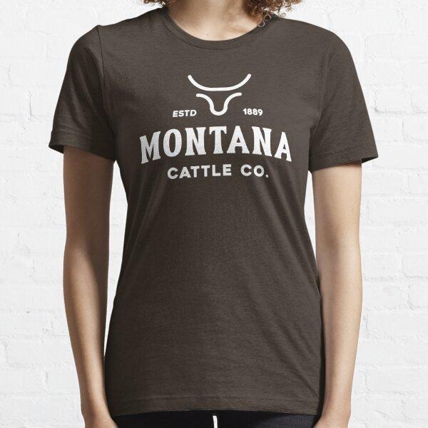 Montana Cattle Company Established 1889 Essential T-Shirt