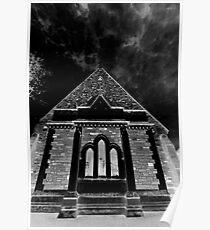 Darkened Church Poster