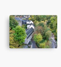 Village in the City Canvas Print