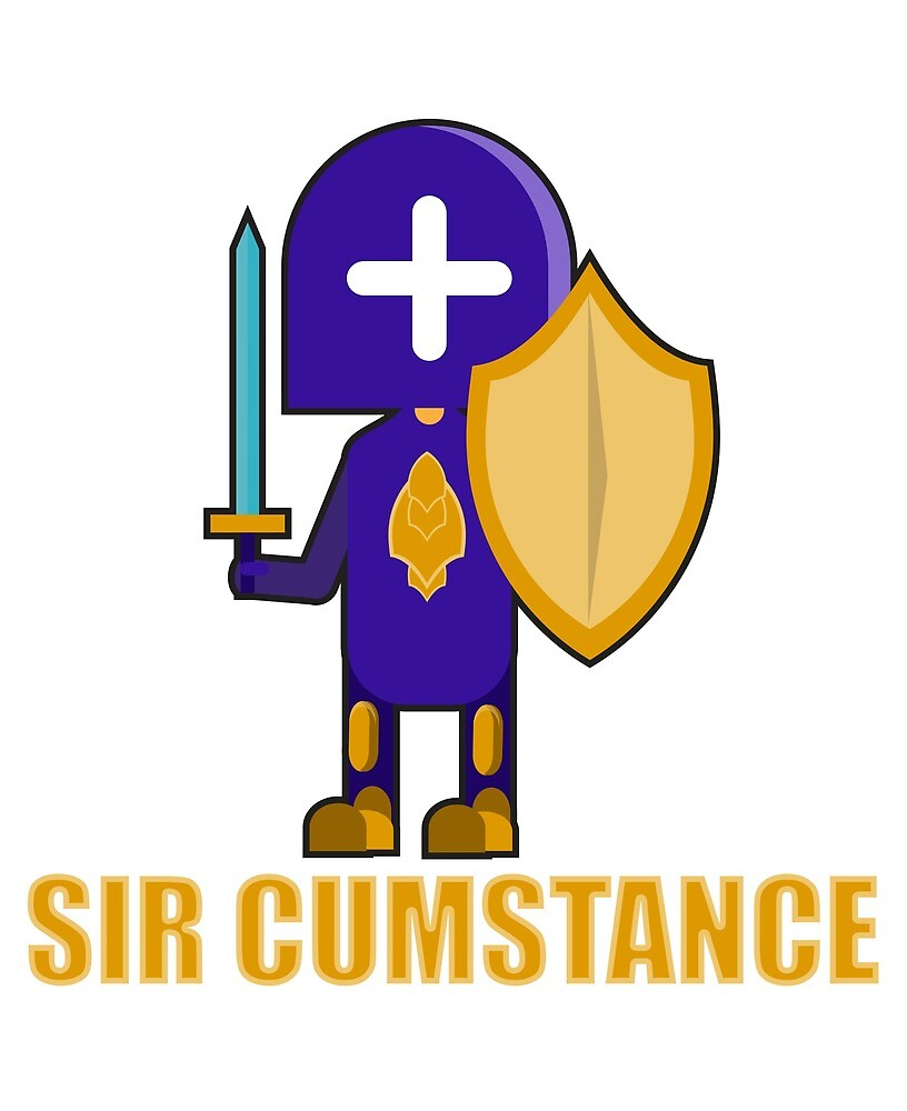 Sir Cumstance The Purple Knight by amenwolf