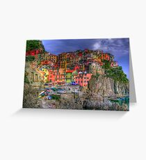 Manarola in Cinque Terre Greeting Card