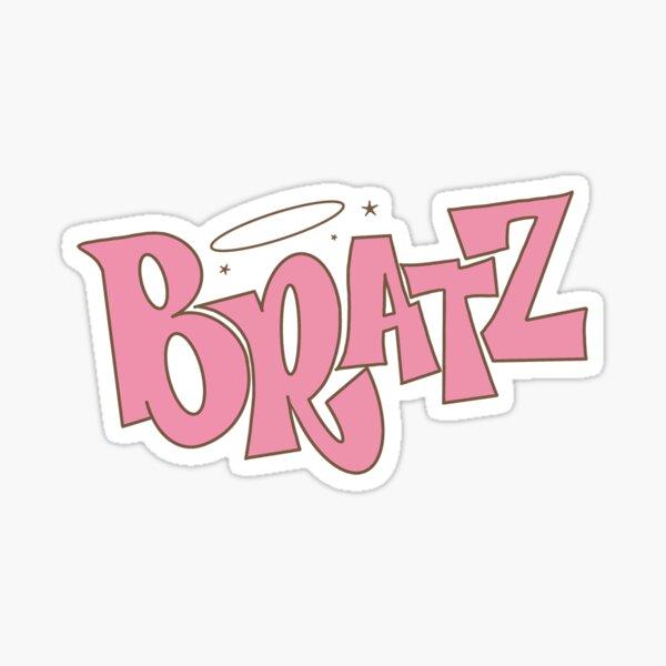 Autocollant Bratz Logo Sticker fini brillant