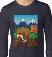Welcome to Montana Long Sleeve T-Shirt