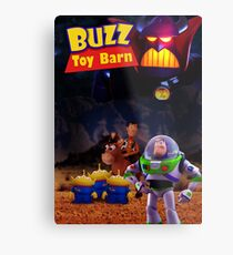 Toy Story Buzz And Woody Metal Print