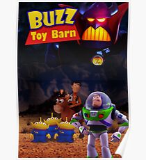 Toy Story Buzz And Woody Poster