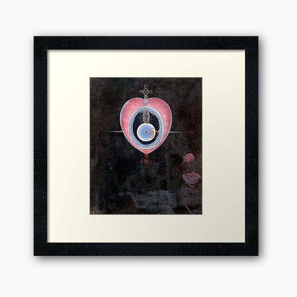 Klint - The Dove, No. 09 Framed Art Print