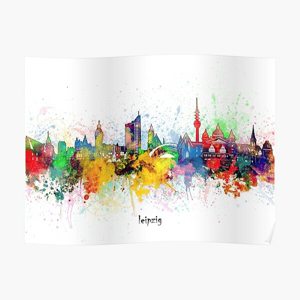 Leipzig Posters Redbubble