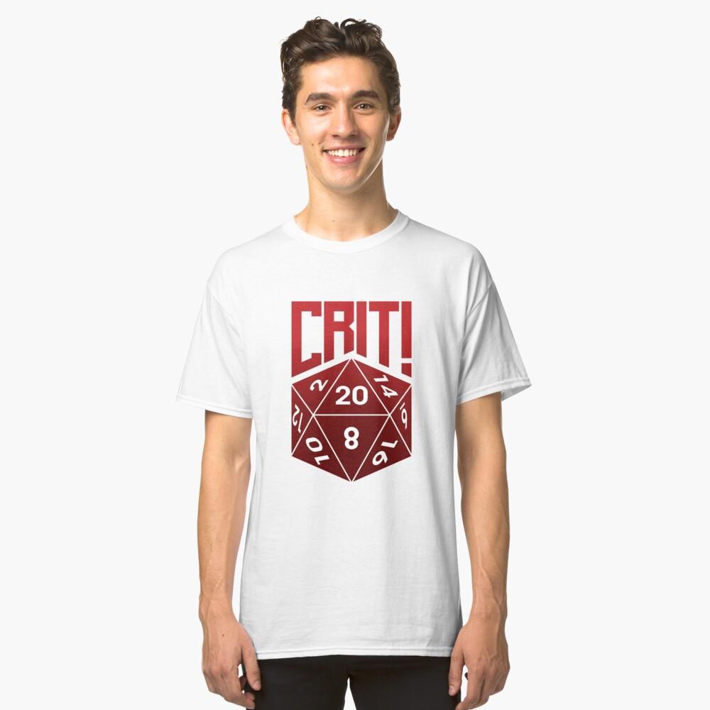 Crit Success - Red Classic T-Shirt