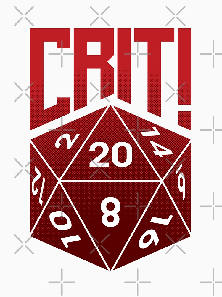Crit Success - Red by jklettdesigns