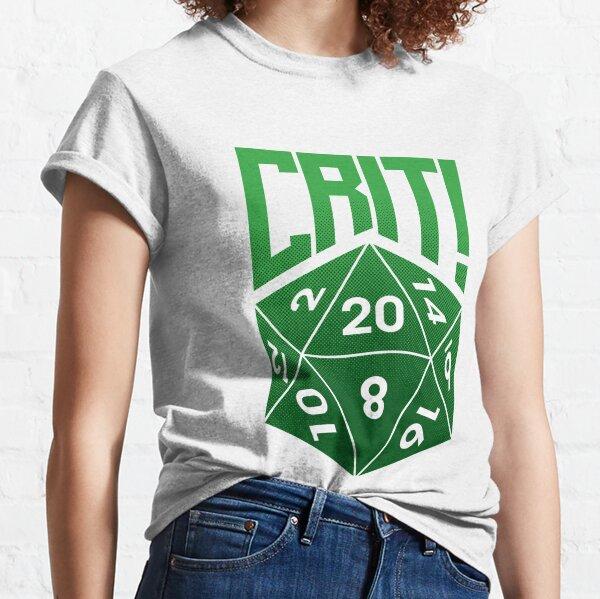 Crit Success - Green Classic T-Shirt