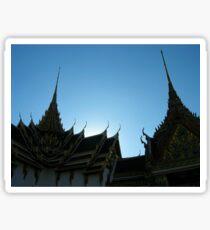 Bangkok Temples Sticker