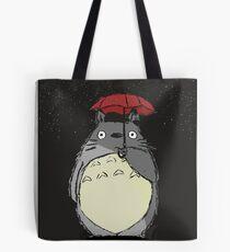Totoro Snow fall Tote Bag