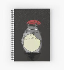 Totoro Snow fall Spiral Notebook