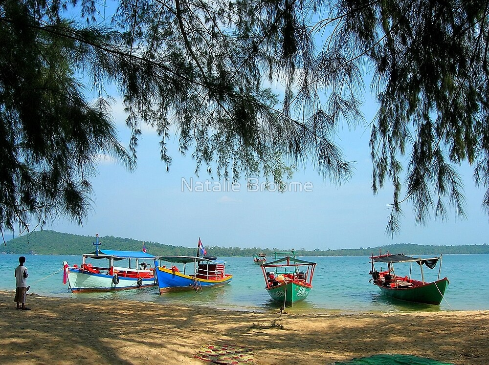 Cambodian Beach by Natalie Broome
