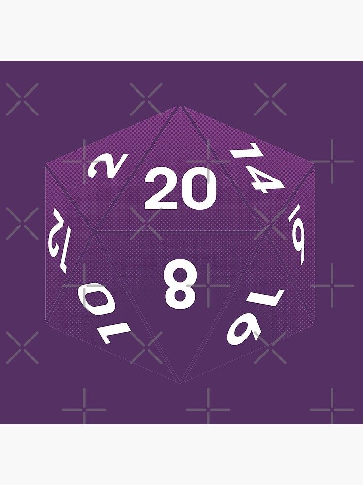 Crit Success - Purple by jklettdesigns