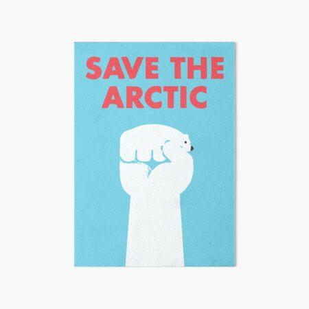 Die Arktis retten Galeriedruck