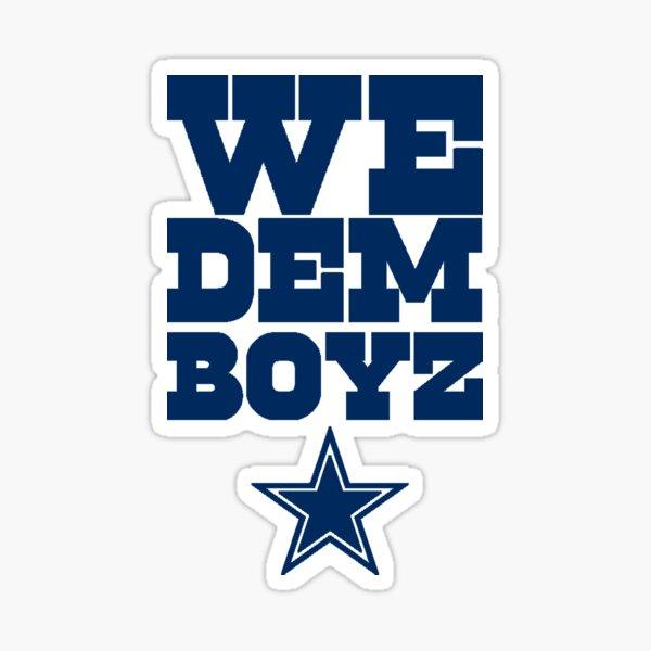 We Dem Boyz NAVY Sticker