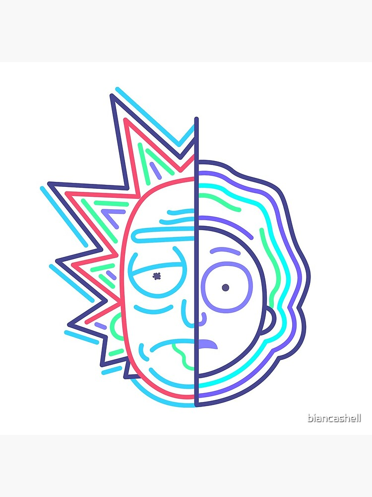 Abstract Rick 2 by biancashell