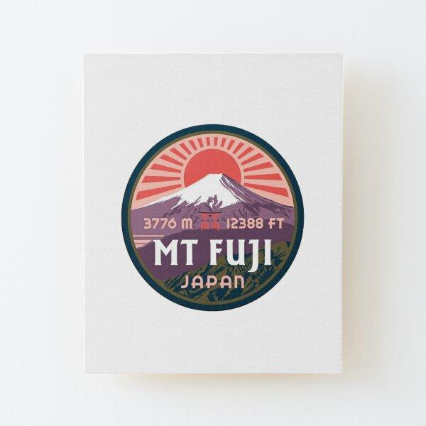 Mount Fuji Wood Mounted Print