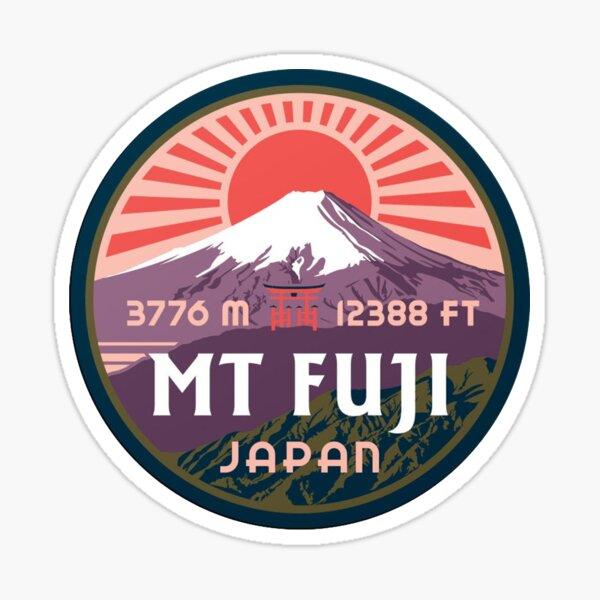 Mont Fuji Sticker