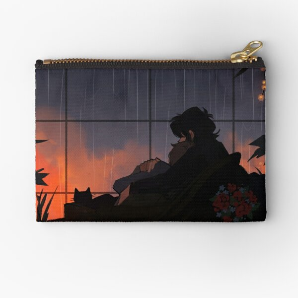 Alone Together Zipper Pouch