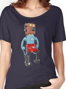 Smartphone Bot 8000 Women's Relaxed Fit T-Shirt