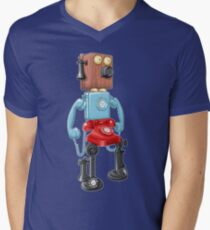 Smartphone Bot 8000 Mens V-Neck T-Shirt