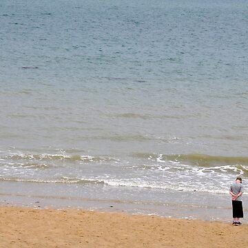 Contemplation Omaha Beach Normandy by probono