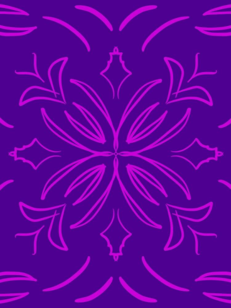 Classic Tile purple by roseglasses