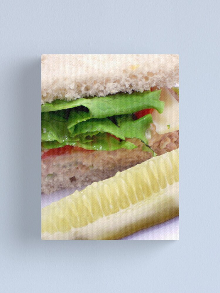 Alternate view of Tuna on Rye Canvas Print