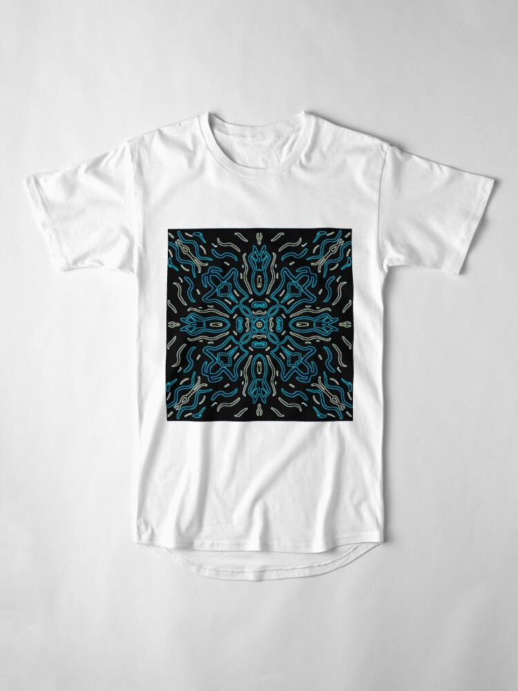 Alternate view of Ethnic Outline Long T-Shirt