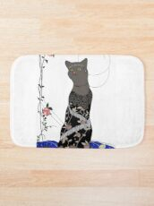 Gloria, Art Deco Cat Bath Mat