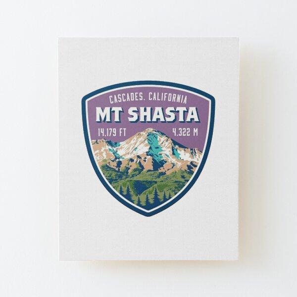 Mt. Shasta Wood Mounted Print