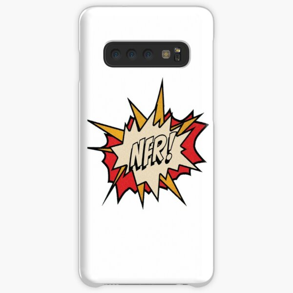 NFR! logo - White Samsung Galaxy Snap Case