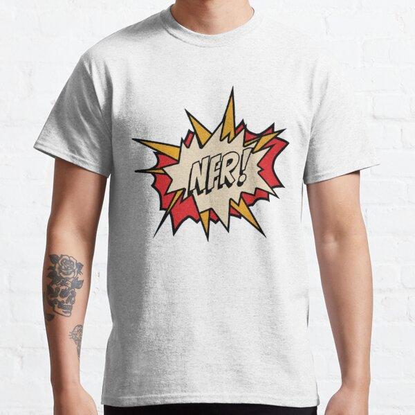 NFR! logo - White Classic T-Shirt
