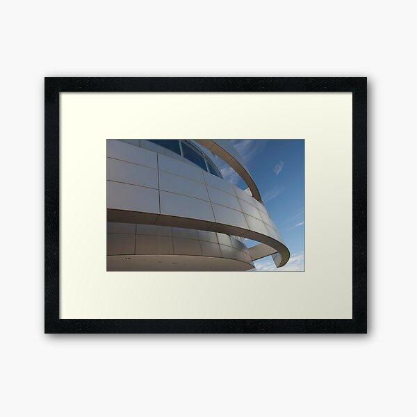 Clear For Take Off Framed Art Print