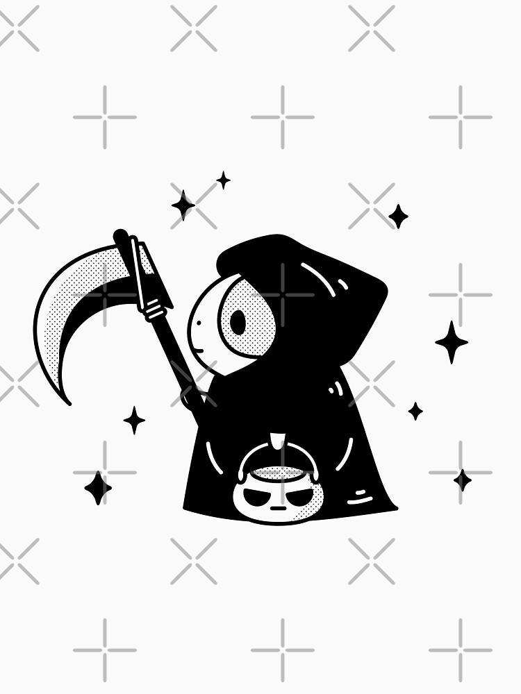 Bubu the Guinea pig, Little Grim Reaper by Miri-Noristudio