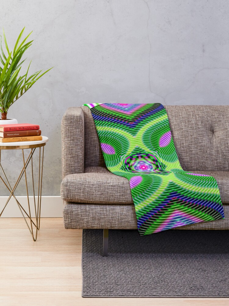 Alternate view of Untitled Throw Blanket