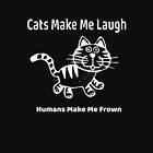 «Los gatos me hacen reír, los humanos me hacen fruncir el ceño» de Marianne Madson