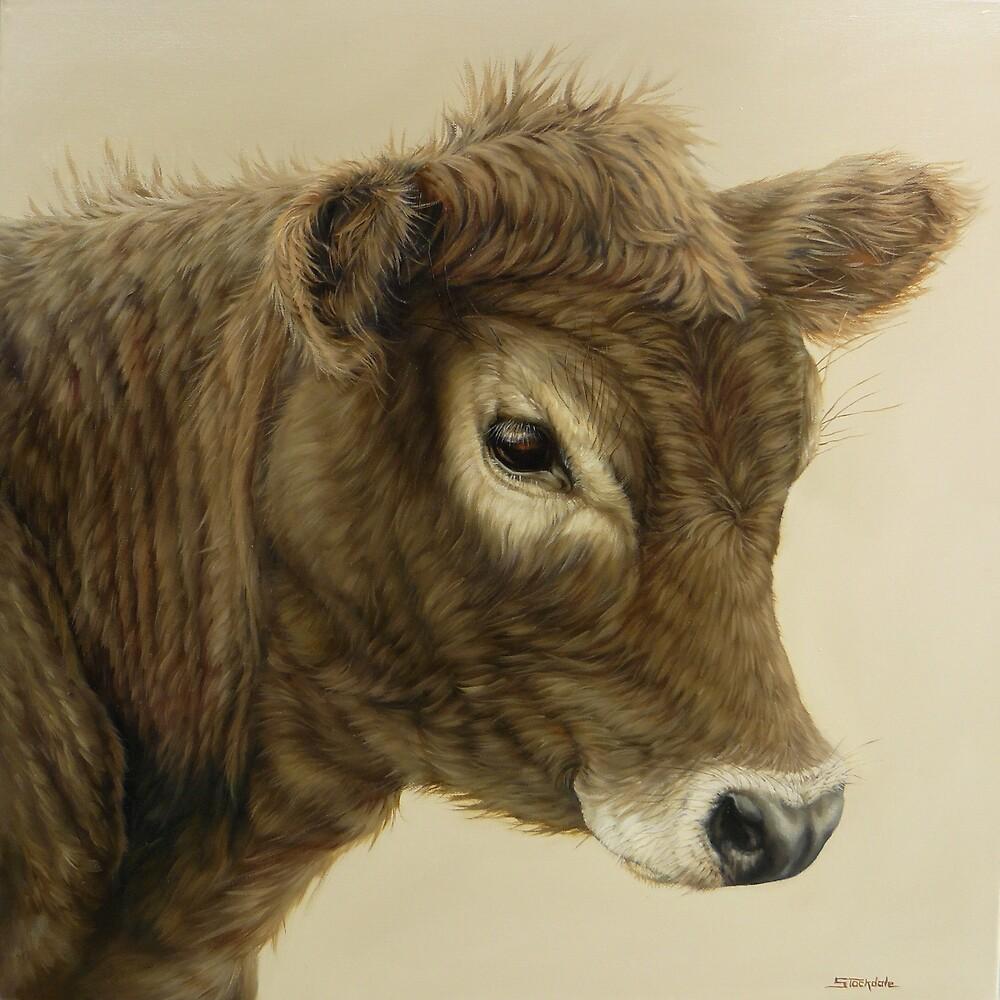 Gentle Calf by Margaret Stockdale