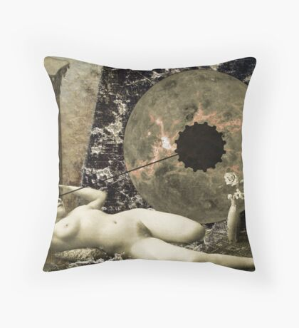 the birth...or death...of Venus Throw Pillow