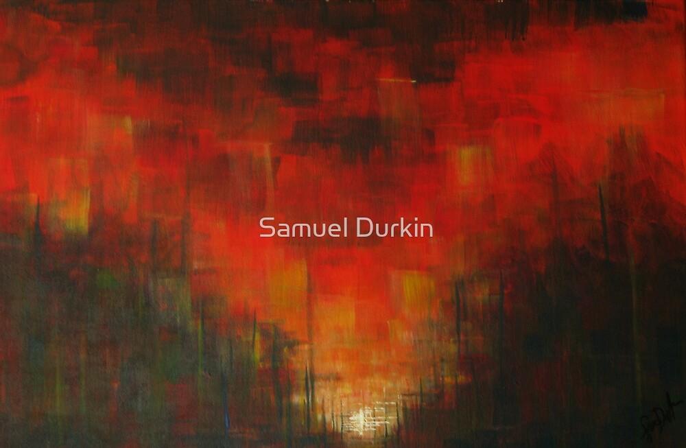 Sunset in Red by Samuel Durkin